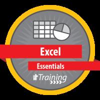 Excel Essentials badge