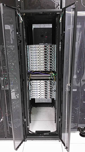New HPC nodes in the racks
