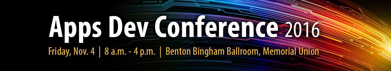 Apps Dev Conference 2016